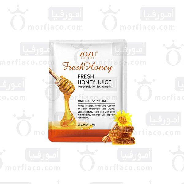 ماسک ورقه ای محلول عسل